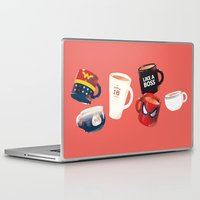 persona Laptop & iPad Skins featuring Workday Persona  by vonhagee