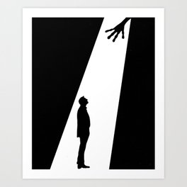 abduction Art Print