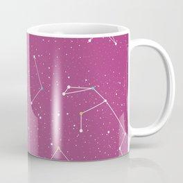 Stars on the sky constellations Coffee Mug