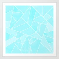 ice Art Prints featuring Ice by Elisabeth Fredriksson