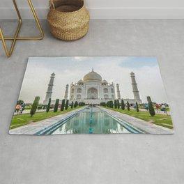Taj Mahal, Agra, India. Rug