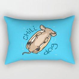 Chill Dog Rectangular Pillow