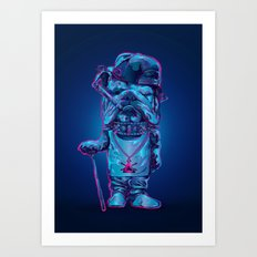 Whats up dawg Art Print
