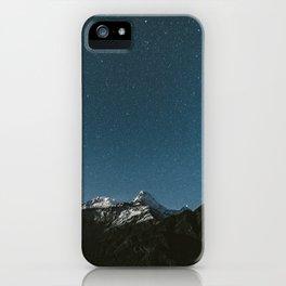 Annapurna Himalayas iPhone Case