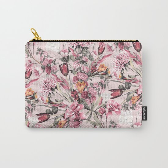 RPE FLORAL XI PINK Carry-All Pouch