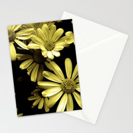 Yellow and Black Stationery Cards