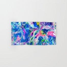 Bathbomb, fluid art, psychedelic art, trippy, psytrance, lsd, acid Hand & Bath Towel