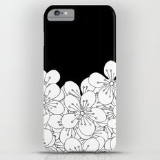 Cherry Blossom Boarder iPhone 6 Plus Slim Case