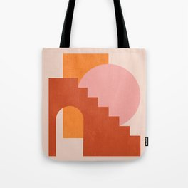 Abstraction_SHAPES_COLOR_Minimalism_003 Tote Bag