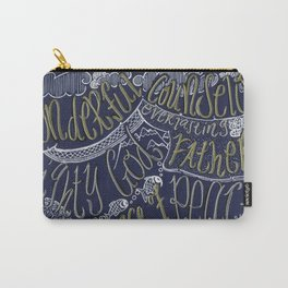 Wonderful Counselor, Mighty God, Everlasting Father, Prince of Peace Carry-All Pouch