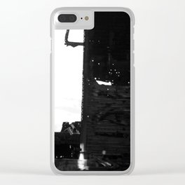 Wrecked plane Clear iPhone Case