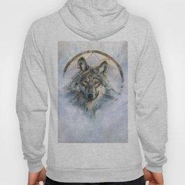 Dreamcatcher - Spirit Animal Wolf Hoody