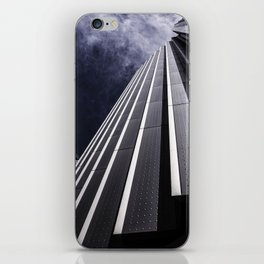 Urban Chrome Structure iPhone Skin