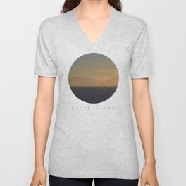 Lost In The Haze Unisex V-Neck