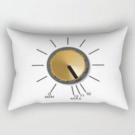 Turn It Up! Rectangular Pillow