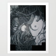 Women Of The Sun (Wrapped Around Fingers) Art Print