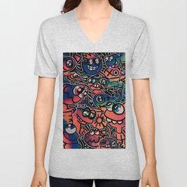 Good Friends and Great Vibes Unisex V-Neck