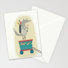 Wolf Adventure Stationery Cards
