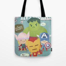 avengers fan art Tote Bag