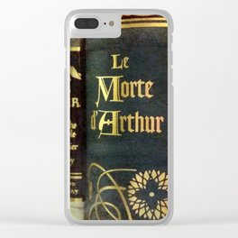 Adventure Library Clear iPhone Case