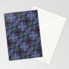 Purpling Curlicules Stationery Cards