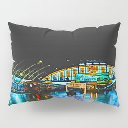 Last Train From Thailand Pillow Sham