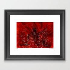 En Bas Framed Art Print