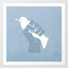 Obtain Peace Revolution Art Print