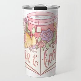 TEA & BOOKS Travel Mug