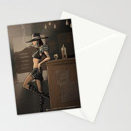 CowGirl Stationery Cards