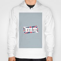 calendars Hoodies featuring Home, Love, Illustration, Heart, london  by Shabby Studios Design & Illustrations ..