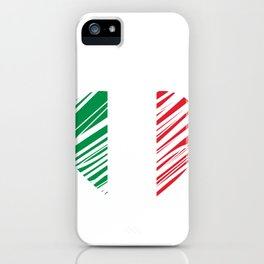 Italy Heart iPhone Case