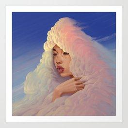 Head In The Clouds - 03 Art Print