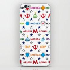 Moscow Vintage Apple Laptop Skin iPhone & iPod Skin