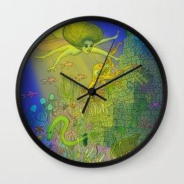 UNDERSEA DREAMS Wall Clock