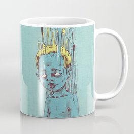 The Blue Boy with Golden Hair Coffee Mug