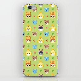 Animal Crossing - Green iPhone Skin