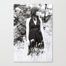 of Mud and Lillies Canvas Print