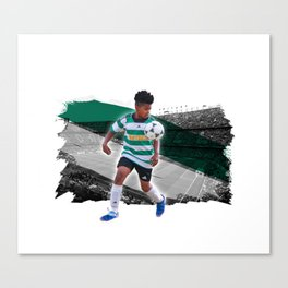 mighty darnell Canvas Print