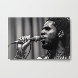 Chronixx Metal Print