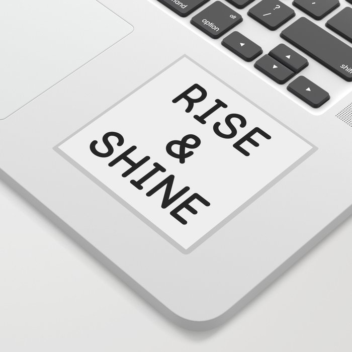simple rise and shine Sticker by shefinds