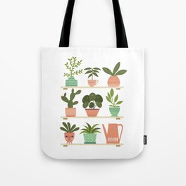 Plant Shelves Tote Bag