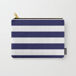 Trendy Navy Stripe Carry-All Pouch