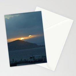 Sunset Naxos 2 Stationery Cards