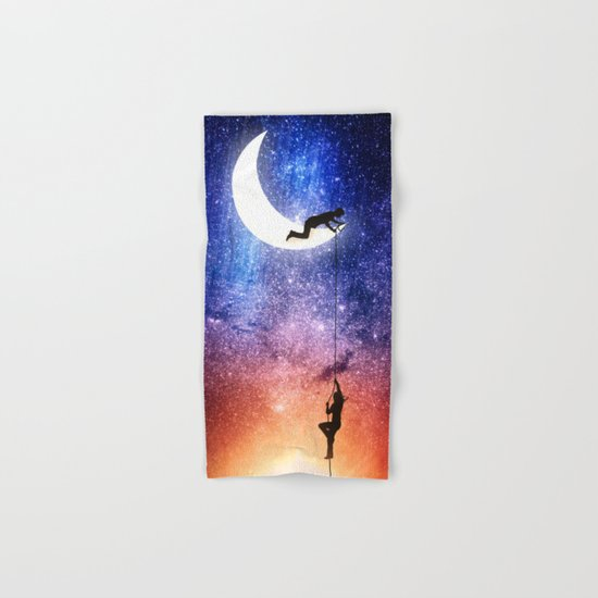 Come stargazing with me Hand & Bath Towel