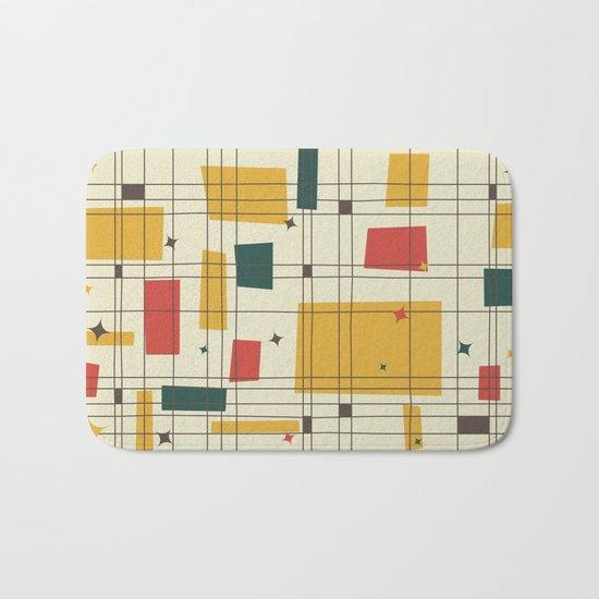 Mid-Century Modern (gold) Bath Mat