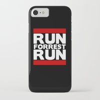 forrest gump iPhone & iPod Cases featuring Forrest Gump Run by Spyck