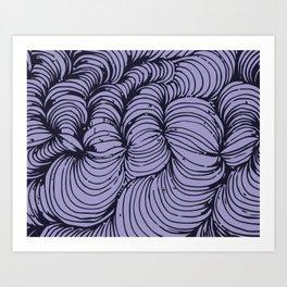magic circle Art Print