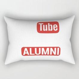 YouTube University Alumni Rectangular Pillow