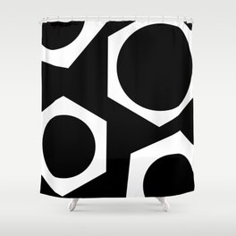 Nutz 2 #abstract #decor Shower Curtain